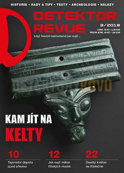 Detektor revue 2018/03 - Detektory kovů
