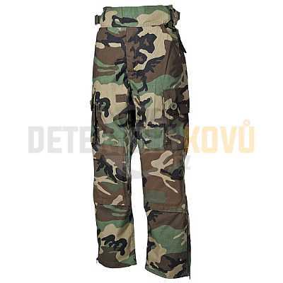 Kalhoty Komando Rip Stop, Woodland - Detektory kovů
