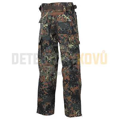 Kalhoty Komando Rip Stop, Flecktarn - L - Detektory kovů