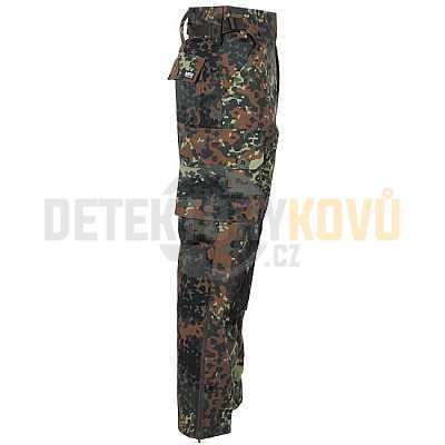Kalhoty Komando Rip Stop, Flecktarn - Detektory kovů