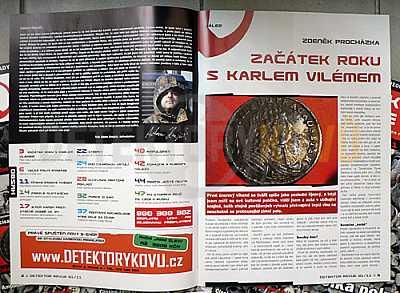 Detektor revue 2011/01 - Detektory kovů