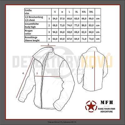 Soft shellová bunda Scorpion, černá - Detektory kovů