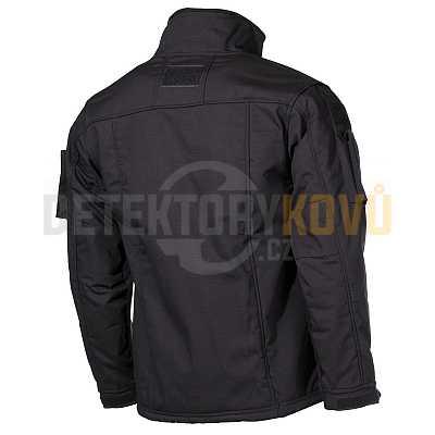 Bunda taktická fleece COMBAT Černá - Detektory kovů