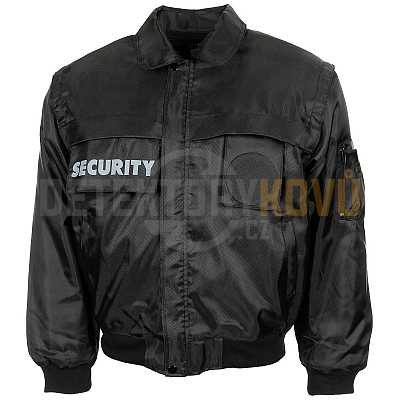 Bunda Security - černá - Detektory kovů