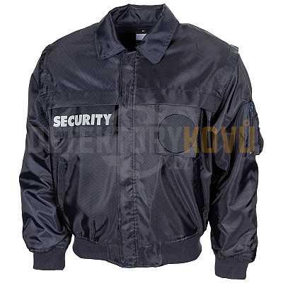 Bunda SECURITY Modrá - nepromokavá - Detektory kovů
