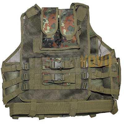 Taktická vesta USMC Flecktarn - Detektory kovů