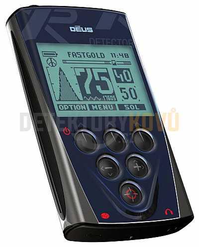 XP Deus 13x24 cm HF RCWS4 CZ - vysokofrekvenční - Detektory kovů