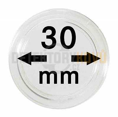 Kapsle na mince 30 mm - Detektory kovů