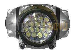 Čelovka 20x LED - Detektory kovů