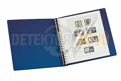 Kroužkové album s 18 kroužky - modré - Detektory kovů