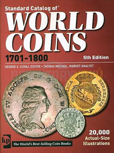 World Coins 1701-1800 - Detektory kovů