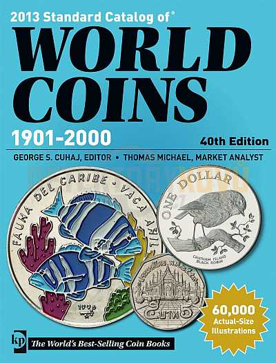 World Coins 1901-2000 - Detektory kovů