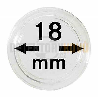 Kapsle na mince 18 mm - Detektory kovů