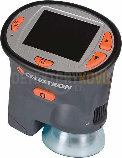 Mikroskop digitální s LCD - Detektory kovů