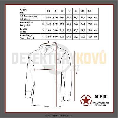 Termoprádlo funkční - LEVEL II, GEN III, COYOT - Detektory kovů