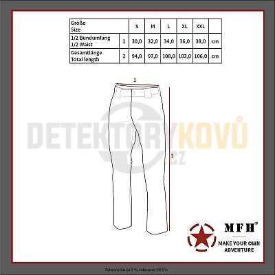 Termoprádlo funkční (spodky) - LEVEL II, GEN III, COYOT - Detektory kovů