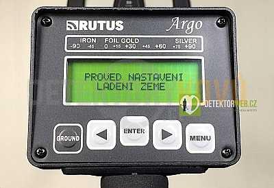 Rutus Argo 29 DD V3.0 CZ - detektor kovů - Detektory kovů