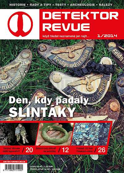 Detektor revue 2014/01 - Detektory kovů
