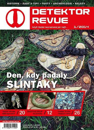 Detektor revue 01/2014 - Detektory kovů