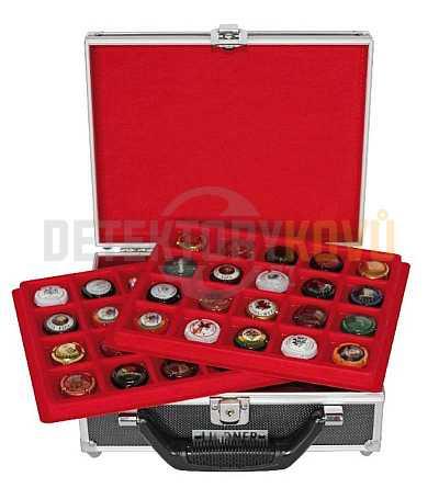 Malý kufřík na vršky od šampaňského - Detektory kovů