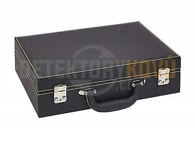 Velký kufřík na mince (prázdný) - Detektory kovů