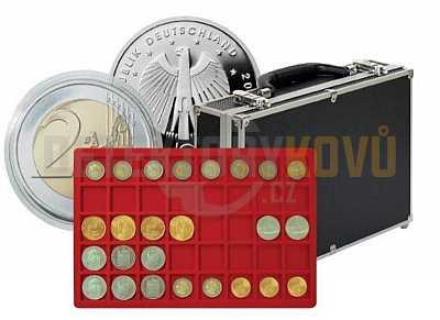 Velký kufřík na mince 2338-280 - s 8 podnosy - Detektory kovů