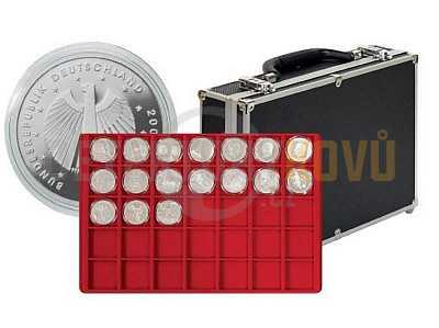 Velký kufřík na mince 2338- 320  s 8 podnosy - Detektory kovů