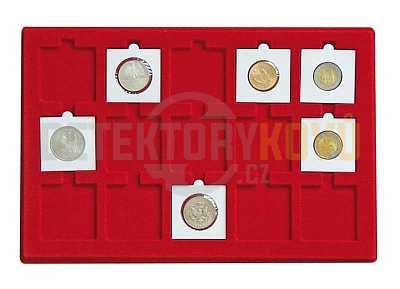 Podnos pro 15 čtvercových pouzder - Detektory kovů