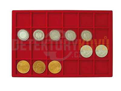 Podnos pro 24 mincí - Detektory kovů
