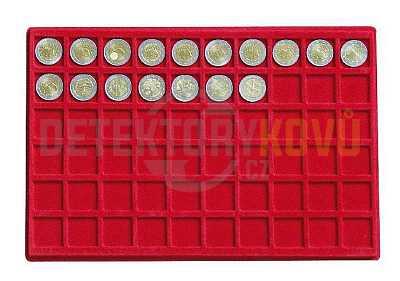 Podnos pro 60 mincí - Detektory kovů