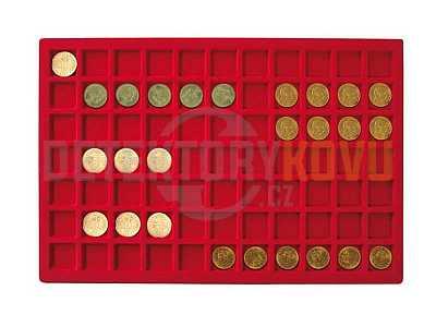 Podnos pro 77 mincí - Detektory kovů