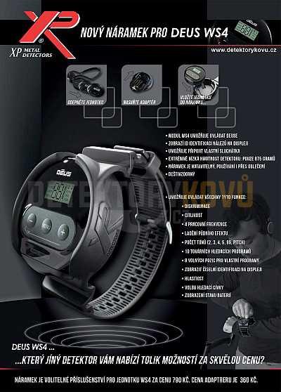 Náramek Deus WS4 - Detektory kovů