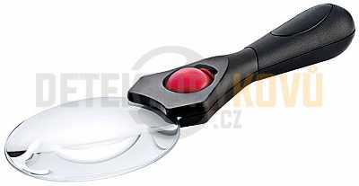 Lupa Lindner s LED osvětlením 3x/5x - Detektory kovů
