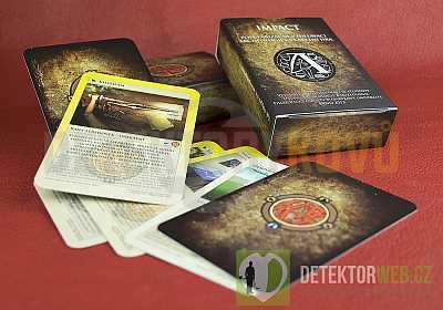 Impact - archeologická karetní hra - Detektory kovů