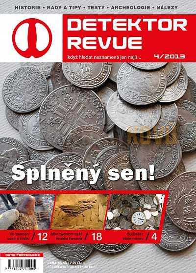 Detektor revue 2013/04 - Detektory kovů