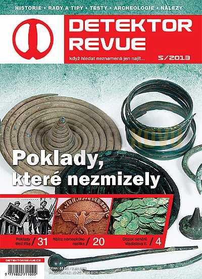 Detektor revue 05/2013 - Detektory kovů