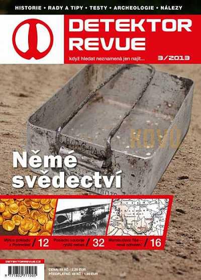 Detektor revue 2013/03 - Detektory kovů