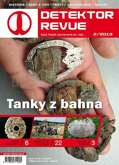 Detektor revue 2013/02 - Detektory kovů