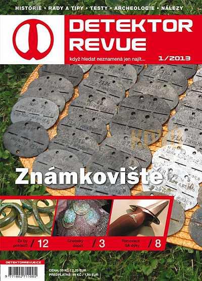 Detektor revue 01/2013 - Detektory kovů