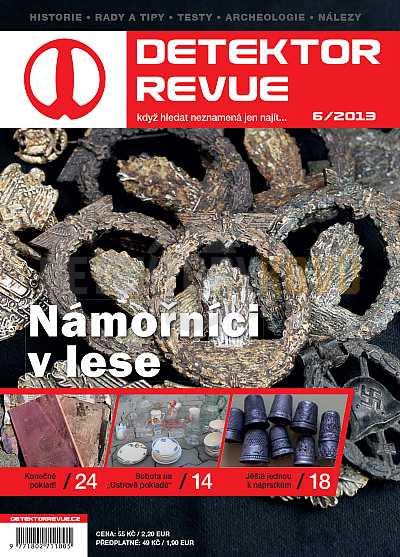 Detektor revue 06/2013 - Detektory kovů