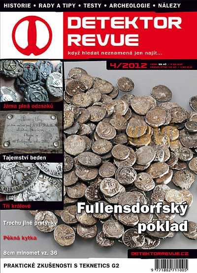 Detektor revue 04/2012 - Detektory kovů