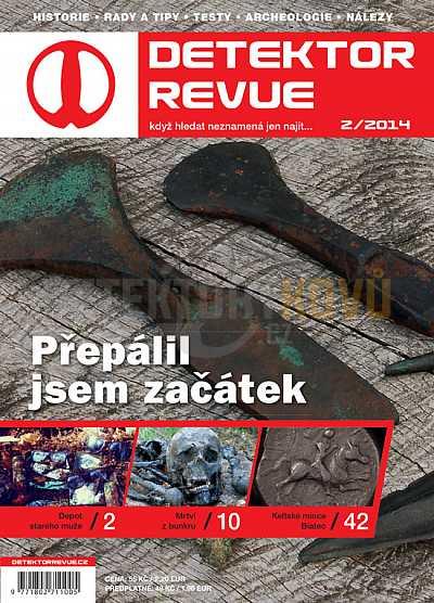 Detektor revue 2014/02 - Detektory kovů
