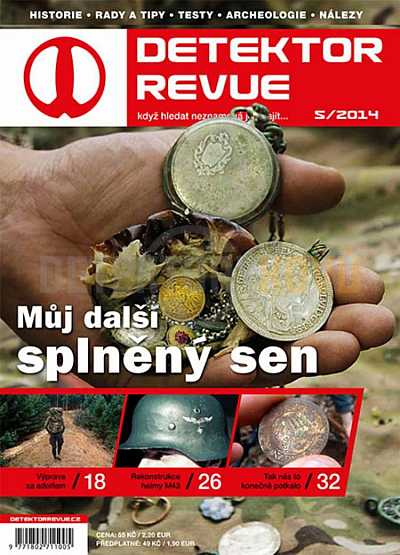 Detektor revue 2014/05 - Detektory kovů
