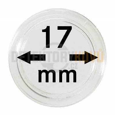 Kapsle na mince 17 mm - Detektory kovů