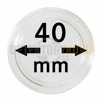 Kapsle na mince 40 mm - Detektory kovů