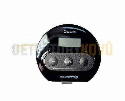 Vrchní kryt s LCD a tlačítky pro sluchátka WS4 - Detektory kovů