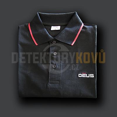 Polo tričko XP Deus - velikost M - Detektory kovů