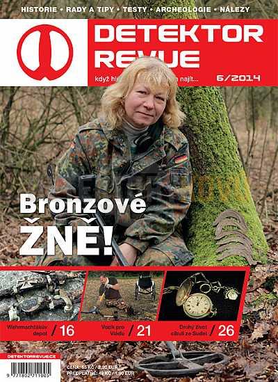 Detektor revue 06/2014 - Detektory kovů