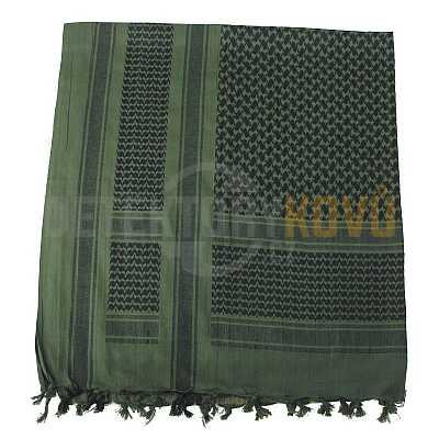 Šátek SHEMAGH zeleno-černý - Detektory kovů