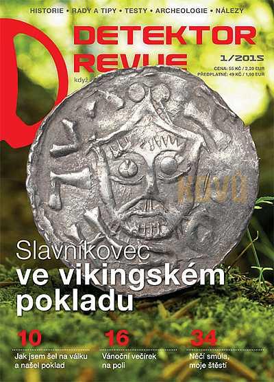 Detektor revue 01/2015 - Detektory kovů